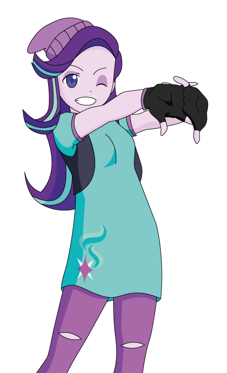 Starlight Glimmer Anime Style by Lhenao