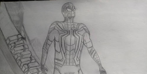 Iron Spider WIP by TwilightFirefly27