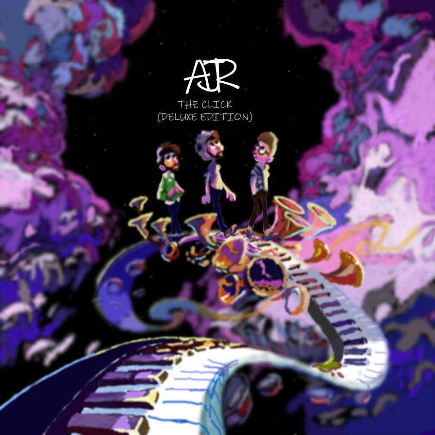 The Click AJR Album Cover Recreation by TwilightFirefly27 on DeviantArt