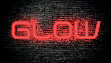 Red Glow Text