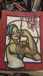 Tank Girl by twistedtempest