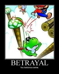 Mario Is A Deadly Traitor by chaoticplumber