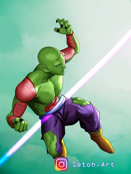 Fan Art Piccolo DragonballZ