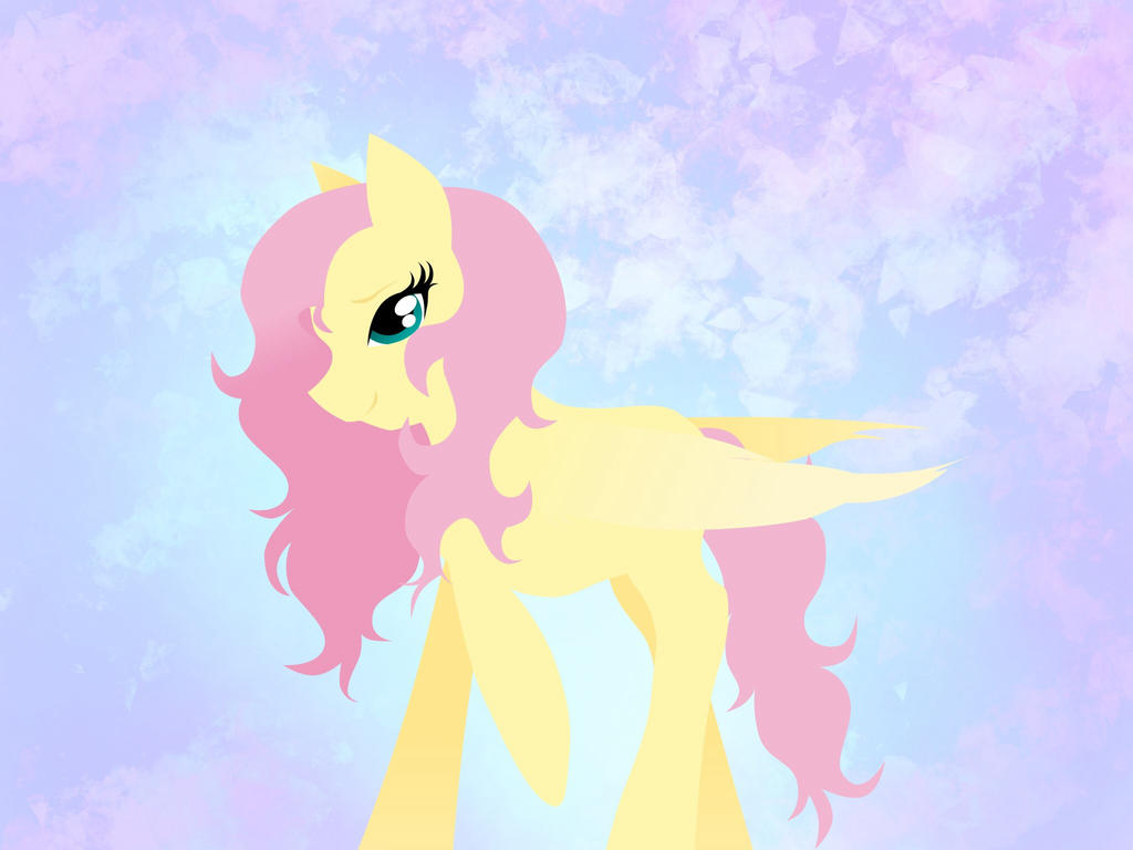 Another Random Fluttershy by Fermter