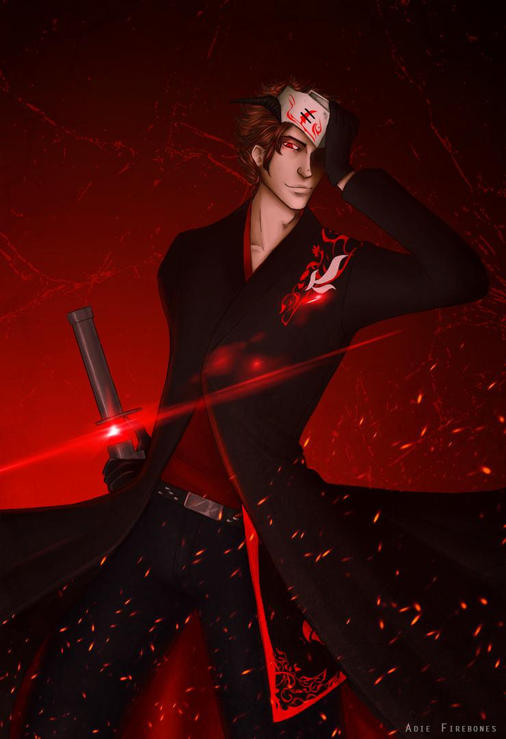 Happy Thanks Day >> Blood red - Adam Taurus by Adie-Firebones on DeviantArt