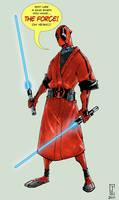 Deadpool Jedi