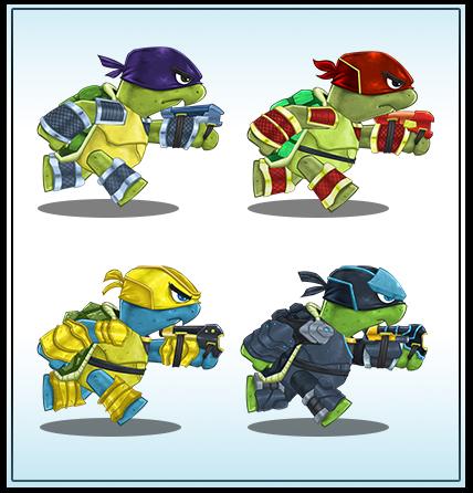 Mutant Heroes by cjcenteno