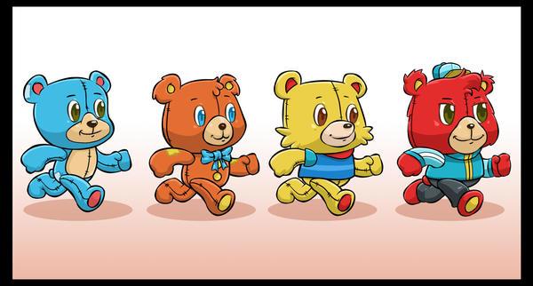 Bears by cjcenteno
