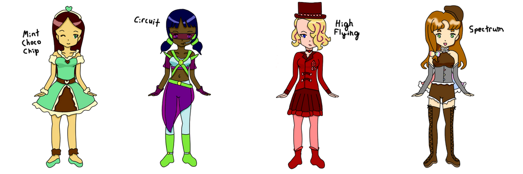 Magical Girl Adoptables by lisanonomys