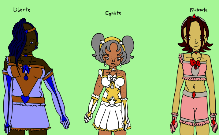 Revolution Magical Girl Adoptables by oracle-li