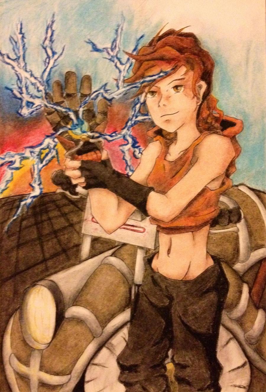 Legend of Korra OC: Hotchka by TerraSL