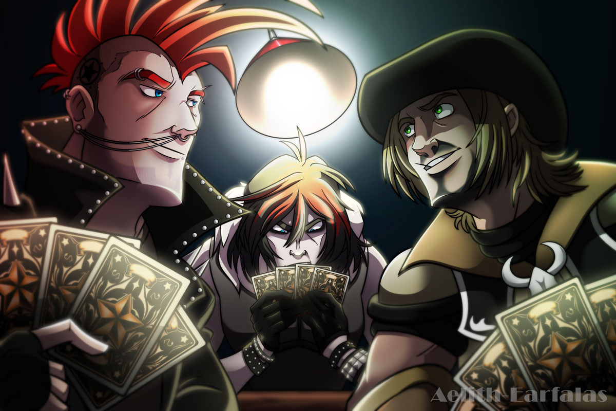 Fun and Card Games by Aelith-Earfalas
