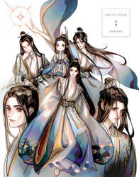 Shifu Sketchpage by eikyrona