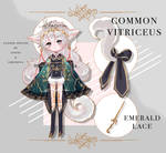 [CLOSED] Emerald Lace Vitriceus Adopt Auction by eikyrona