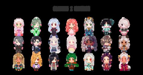 [1KA] Member Pixels - Opening 2