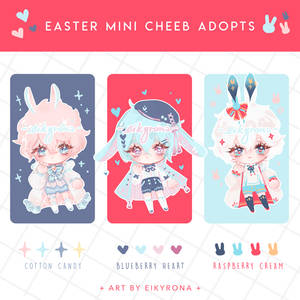 [CLOSED] Easter Chibi Adopts Auction