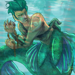 Merman by JoAsakura