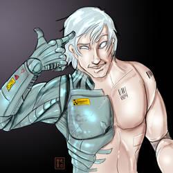 Cyborg 004 by JoAsakura