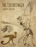 The Lifebringer - Concept Sketches by TheMeekWarrior