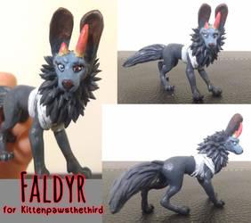 Sculpt Commish - Faldyr by TheMeekWarrior