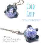 Cold Grip Claw Pendant - $10