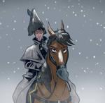 Saga in Snow by AlexVanArsdale