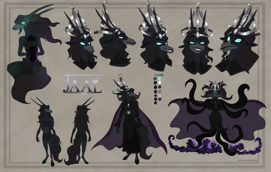 Jaal character sheet