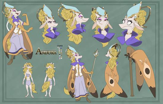 Andora character sheet