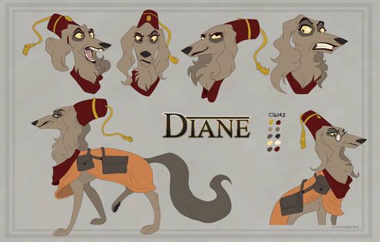 Diane character sheet