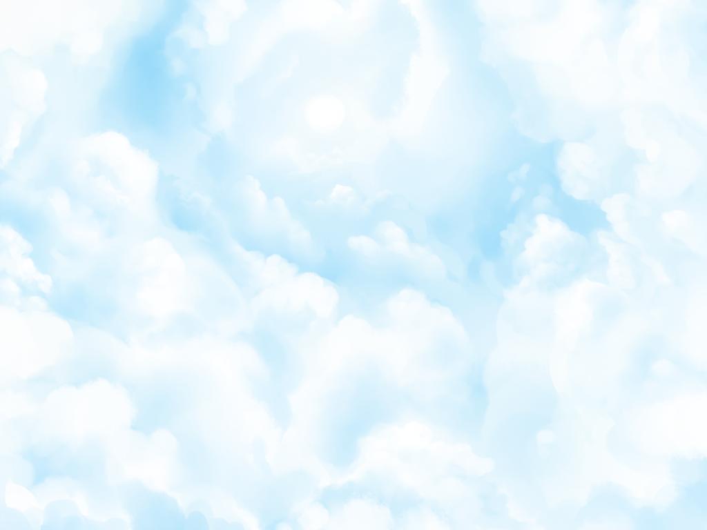 Cloud Practice by KazeSkyfox