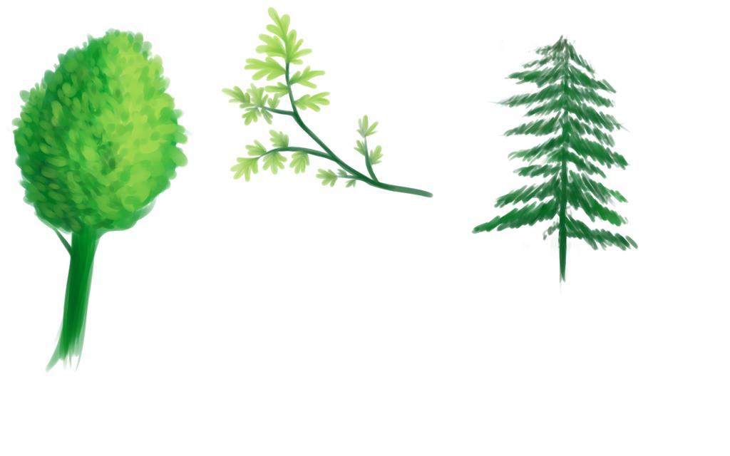 Tree Doodle by KazeSkyfox