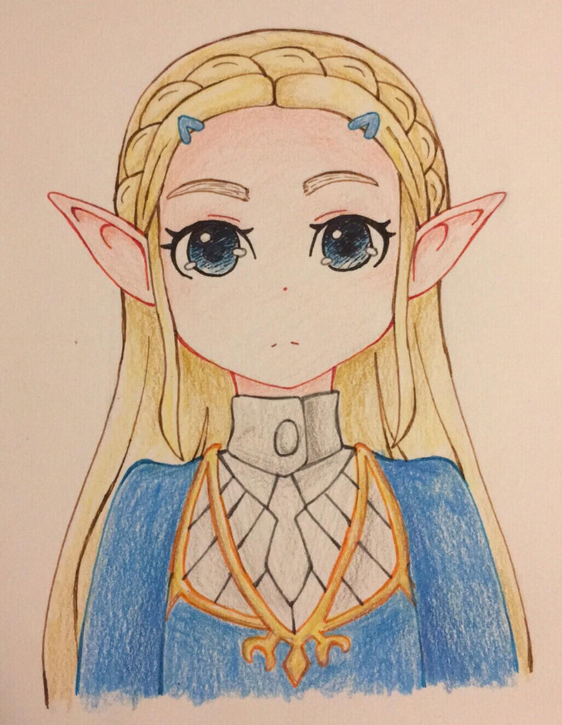 Princess Zelda by MartianPudding