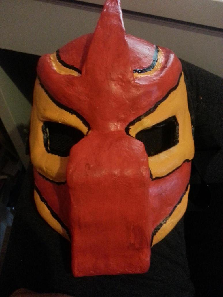 Predator mask/Princess Mononoke colours by killerkeji
