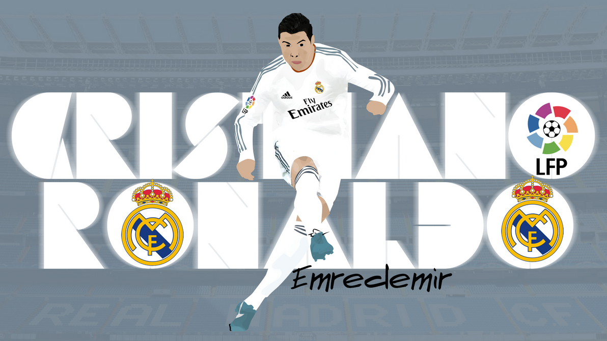 cr7 vector art by demirgraphic on deviantart