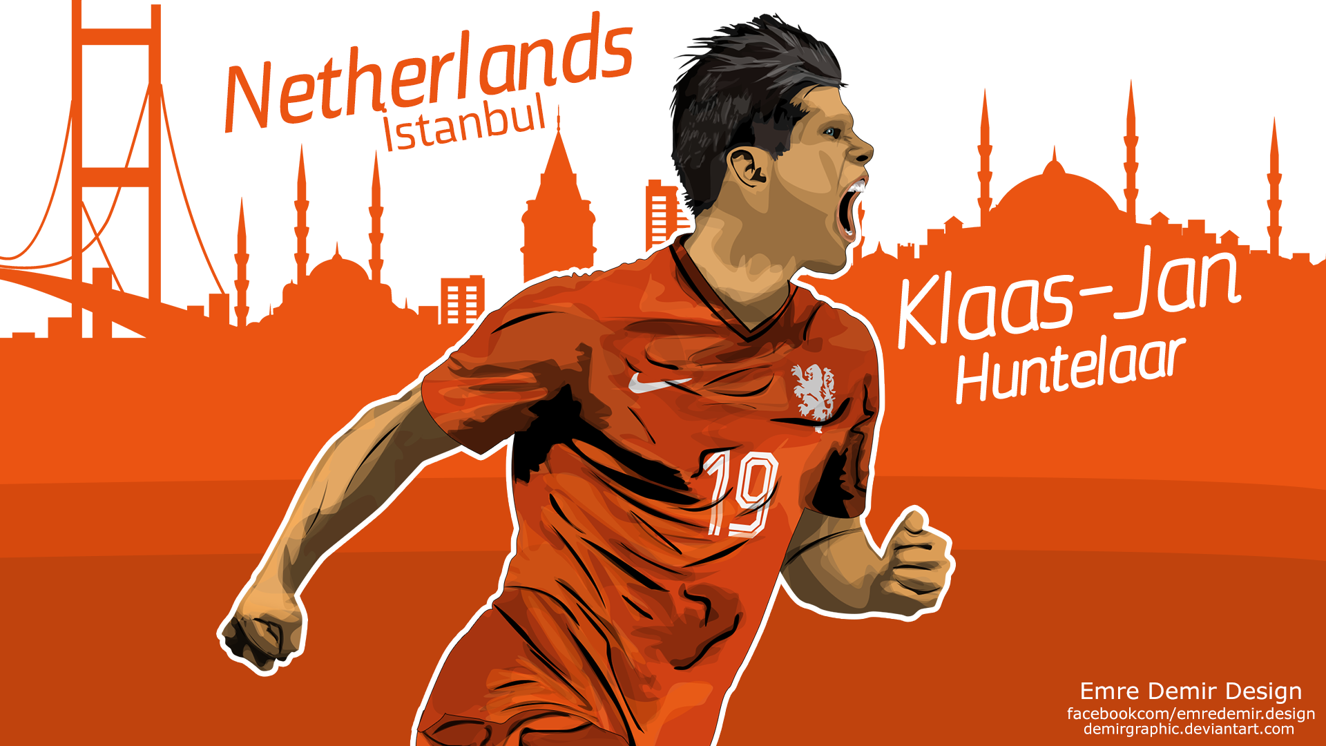 Klaas Jan Huntelaar by DemirGraphic on DeviantArt