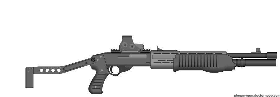 Imitating MW2 SPAS-12 | Counter-Strike: Source Skin Mods