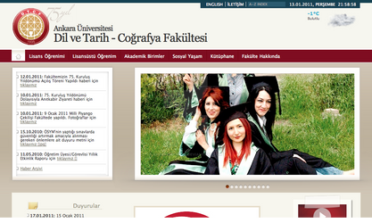 DTCF internet sitesi