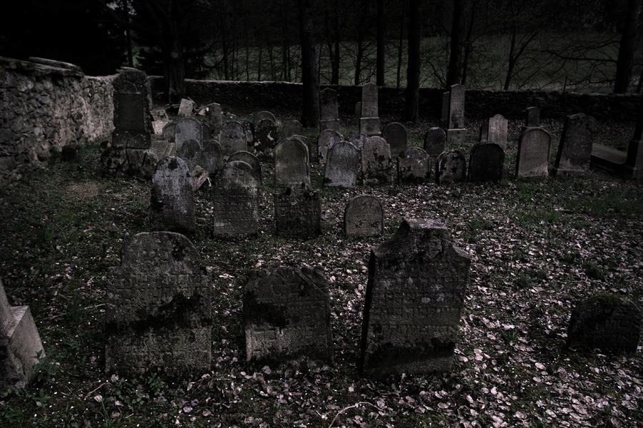 Image result for dark cemetery