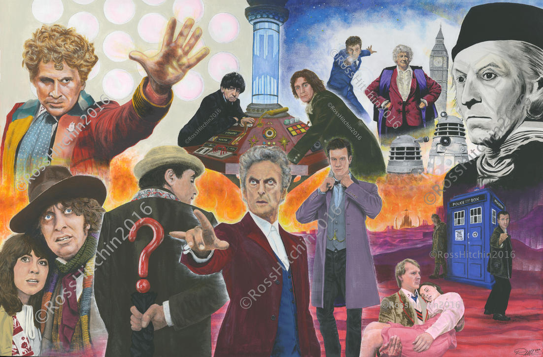 13 Doctors. by VibrantBristles