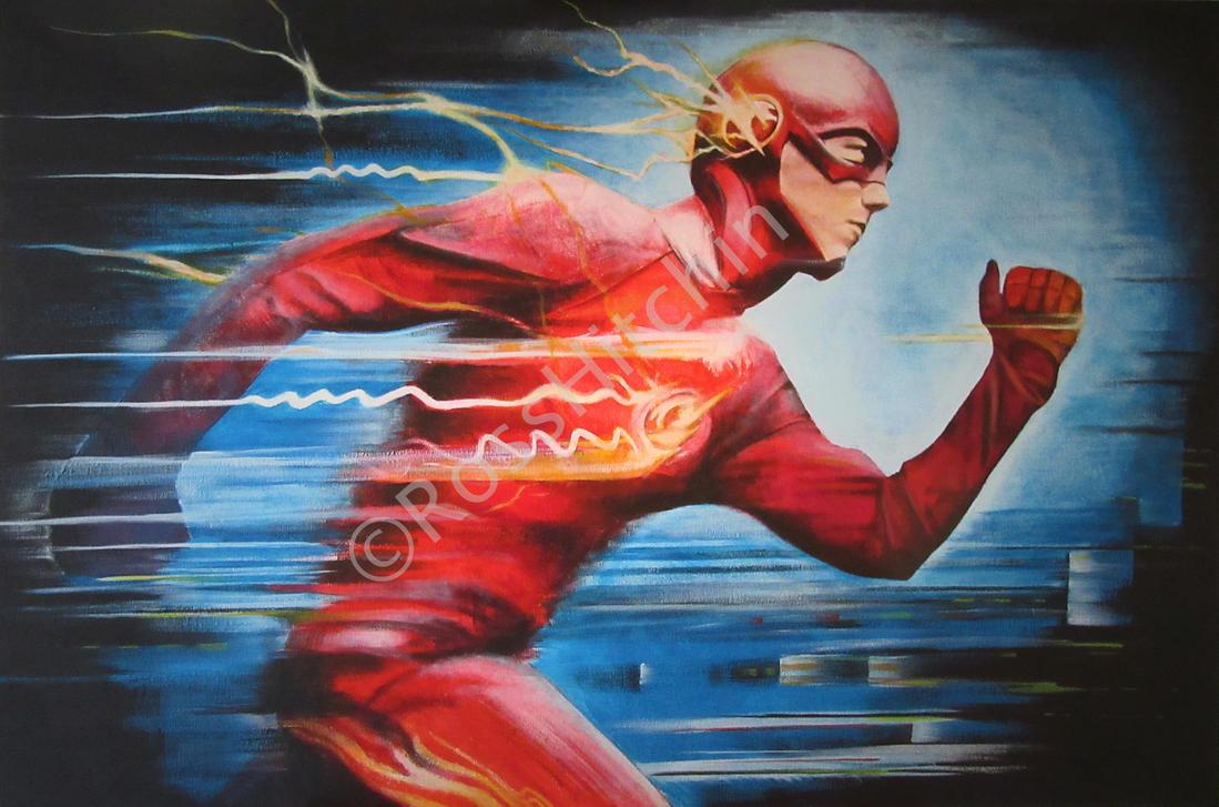 Run, Barry, Run! by VibrantBristles