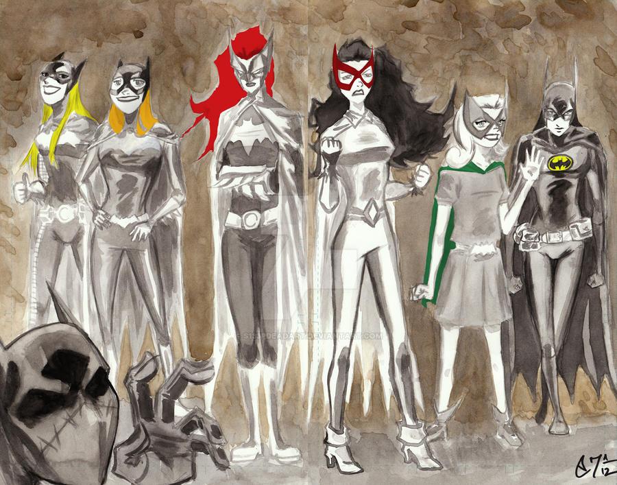 Preboot Bat Ladies by s133pDEADart