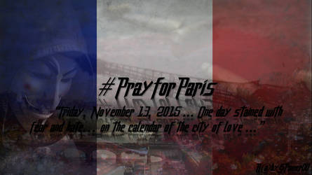 #PrayforParis by RabyPower00