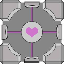 Portal Companion Cube