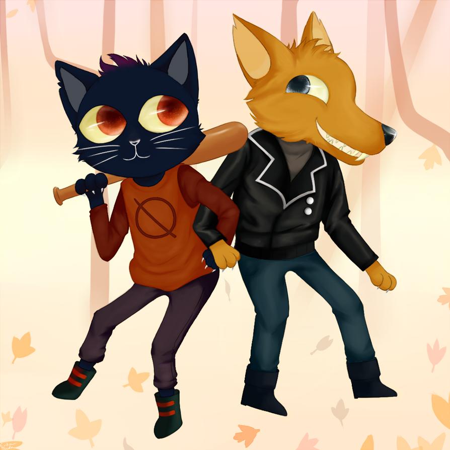 NITW: Mae and Gregg by Copyplier
