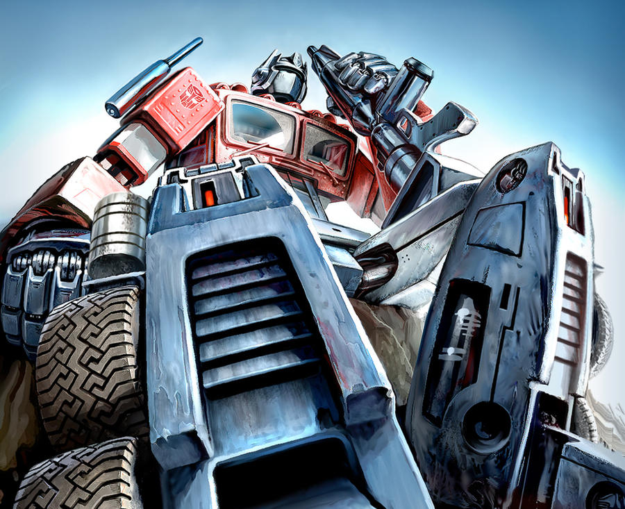 Ol' Optimus Prime by PatrickThornton