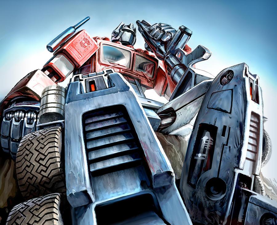 Ol' Optimus Prime by PatrickThornton