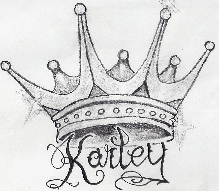 King Crown Drawing   New Calendar Template Site