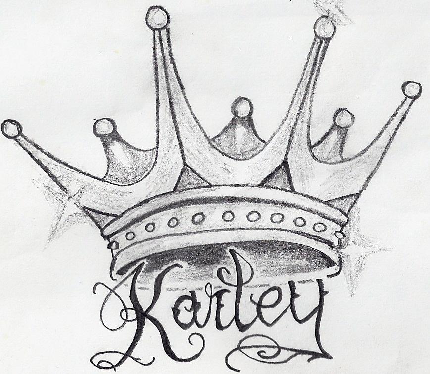 Crown drawing