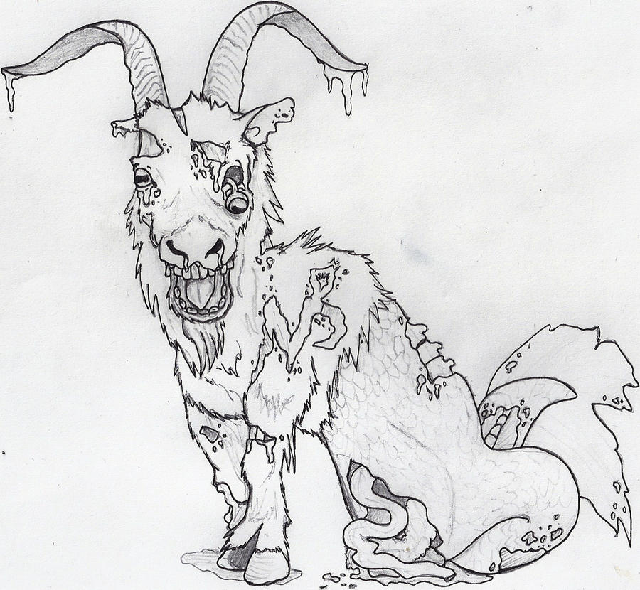 Capricorn Drawings Zombie By