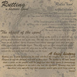 Rutting sport rules and history by MaichoMod